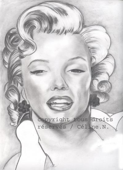 Marilyn Monroe por linsay56